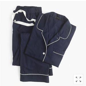 J Crew Short Sleeve Vintage Pajama Set S